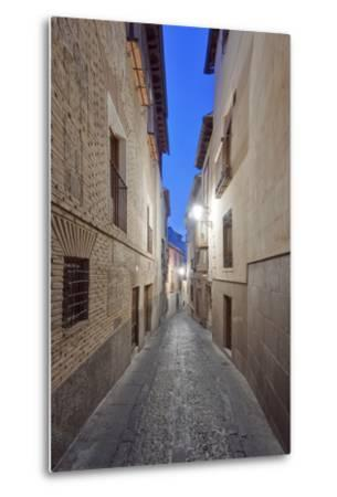 Historic District Alley at Dawn, Toledo, Spain-Rob Tilley-Metal Print