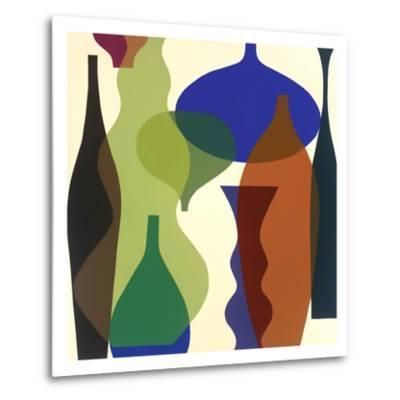 Floating Vases II-Mary Calkins-Metal Print