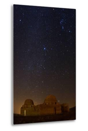 Sirius, Canopus, and Orion Over 1600-year-old Sasan Palace Ruins-Babak Tafreshi-Metal Print