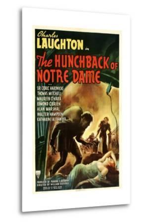 The Hunchback of Notre Dame, 1939--Metal Print