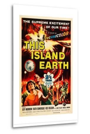 THIS ISLAND EARTH, Faith Domergue, Rex Reason, Jeff Morrow, 1955--Metal Print