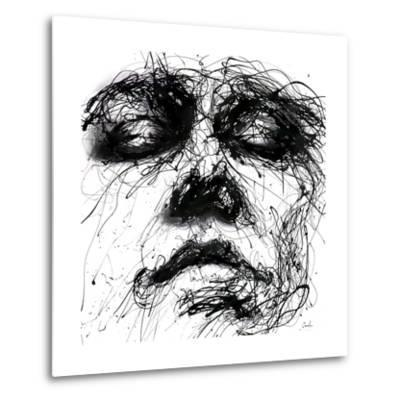 Waiting-Agnes Cecile-Metal Print