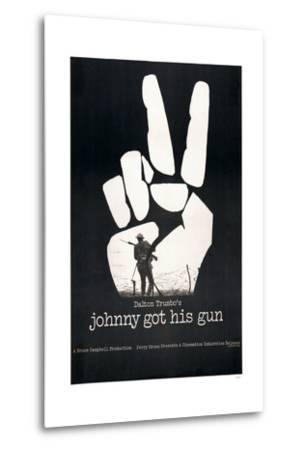 JOHNNY GOT HIS GUN, US poster, 1971--Metal Print