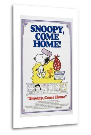 Snoopy, Come Home!--Metal Print