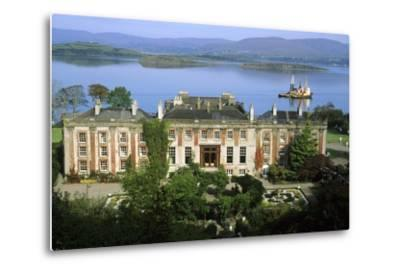 Bantry House and Bay--Metal Print