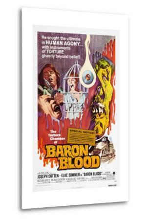 Baron Blood (aka Gli Orrori del Castello di Norimberga)--Metal Print