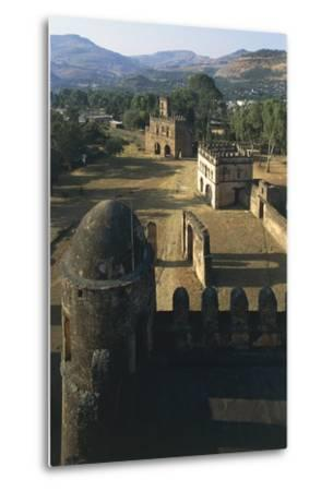 Fasilides Castle--Metal Print