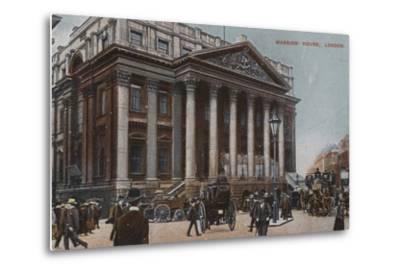 Mansion-House, London--Metal Print