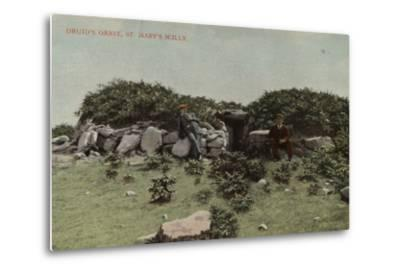 Druid's Grave, St Mary's Scilly--Metal Print