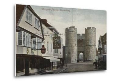 Westgate Towers, Canterbury, Kent--Metal Print