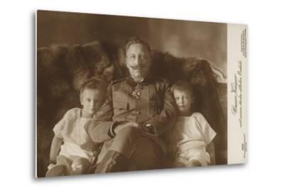Kaiser Wilhelm II--Metal Print