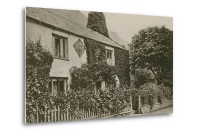 Hartley Coleridge's Cottage, Grasmere--Metal Print