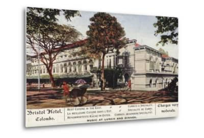 Bristol Hotel in Colombo--Metal Print