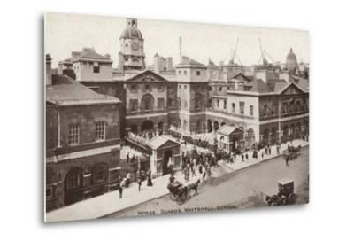 Horse Guards, Whitehall, London--Metal Print