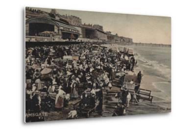 The Sands, Ramsgate--Metal Print