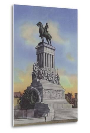 Monumento a Maximo Gomez, Maximo Gomez Monument--Metal Print