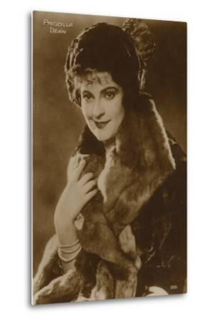 Priscilla Dean, American Stage and Film Actress--Metal Print