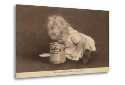 Advertisement for Glaxo Baby Food--Metal Print