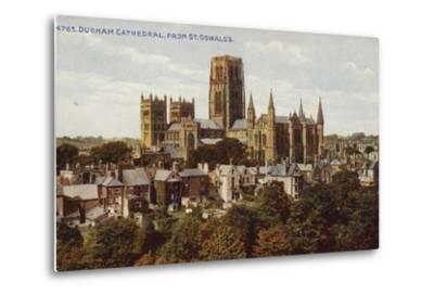 Durham Cathedral, from St Oswald'S--Metal Print