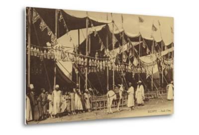 Egypt - Arab Celebration--Metal Print