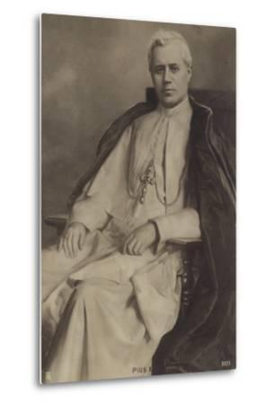 Pope Pius X--Metal Print