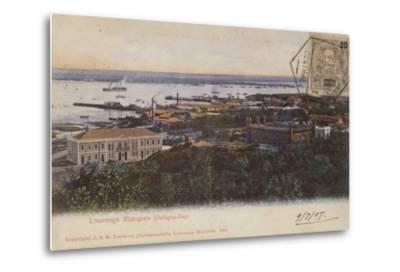 Delagoa Bay and Lourenco Marques, Mozambique--Metal Print