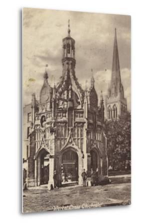Market Cross, Chichester--Metal Print