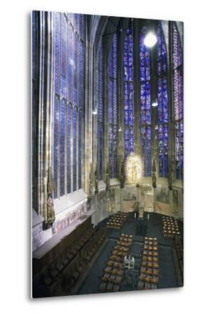 Interior of Aachen Cathedral--Metal Print