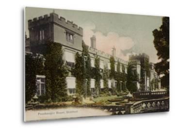 Panshanger House, Hertford--Metal Print