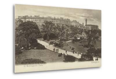 In Kelvingrove Park, Glasgow- Scottish Photographer-Metal Print