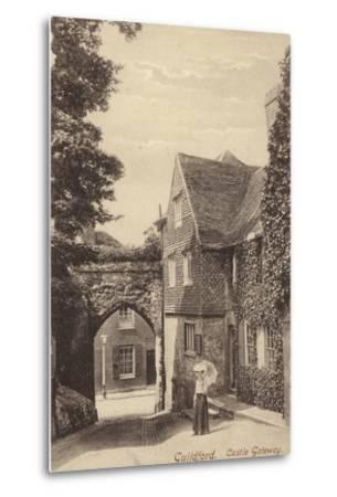 Guildford, Castle Gateway--Metal Print