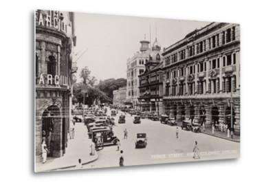 Prince Street in Colombo--Metal Print
