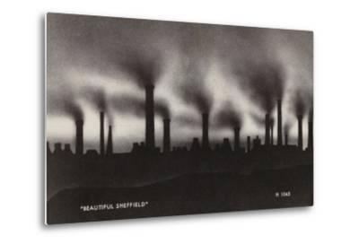 """Beautiful Sheffield""--Metal Print"