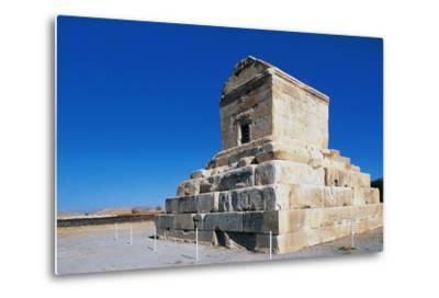 Tomb of Cyrus Great, Pasargad--Metal Print