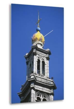 Dome of Bell Tower of Westerkerk--Metal Print