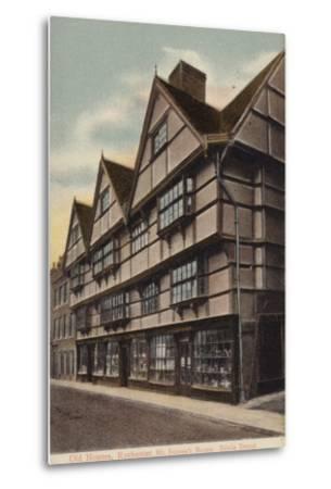 Mr Sapsea's House, Edwin Drood--Metal Print