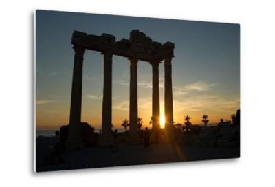 The Temple of Apollo, Side, Turkey--Metal Print