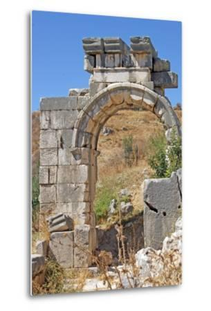 Hellenistic Gate, Xanthos, Turkey--Metal Print