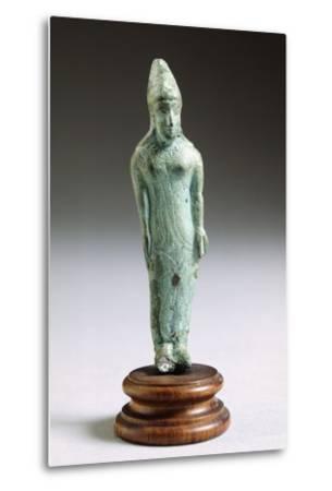 Kore in Bronze, from Fonte Veneziana, Arezzo--Metal Print
