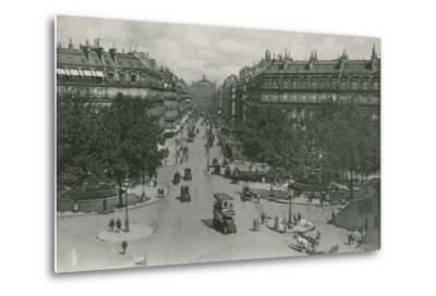 L'Avenue De L'Opera, Avenue of the Opera--Metal Print