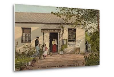 Postcard Depicting Constantia--Metal Print