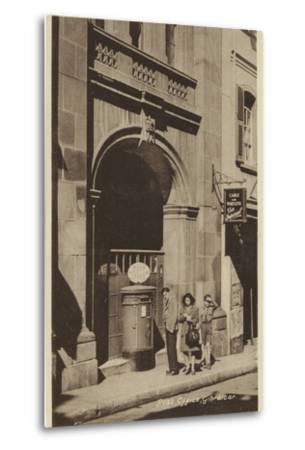 Post Office, Gibraltar--Metal Print