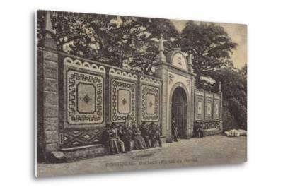 Queen's Gates; Palace Hotel, Bussaco, Portugal--Metal Print