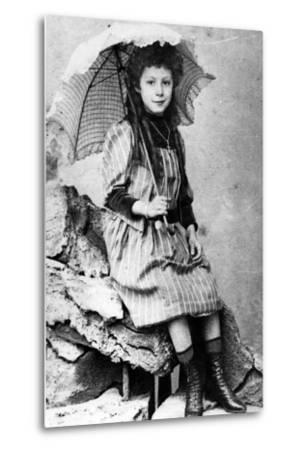 Marie Laurençin as a Child, C.1903--Metal Print