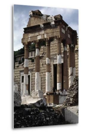 Capitolium or Capitoline Temple--Metal Print