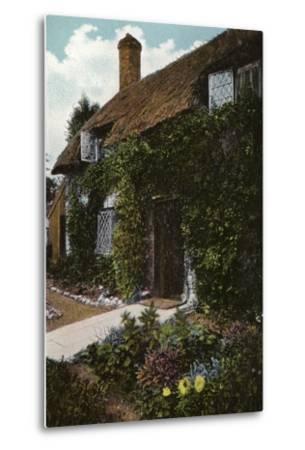 Little Jane's Cottage, Brading--Metal Print