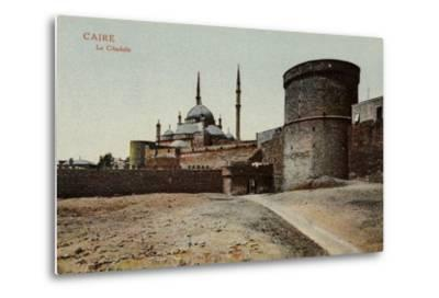 The Citadel, Cairo, Egypt--Metal Print
