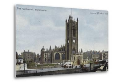 The Cathedral, Manchester--Metal Print