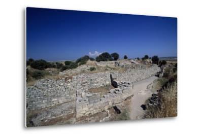 Ruins of Walls of Troy VI, Troy--Metal Print