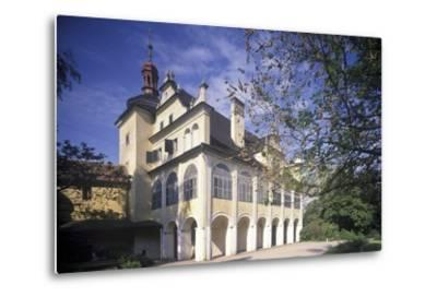 Summer Palace in Opono, Czech Republic--Metal Print